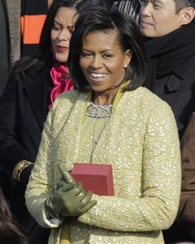 First Lady Michelle Obama, my hero