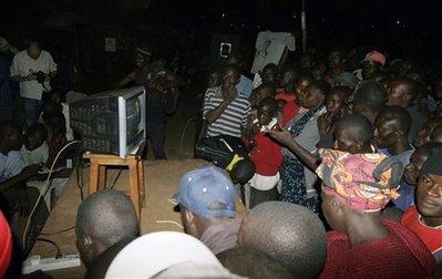 Watching the Inauguration in Kenya