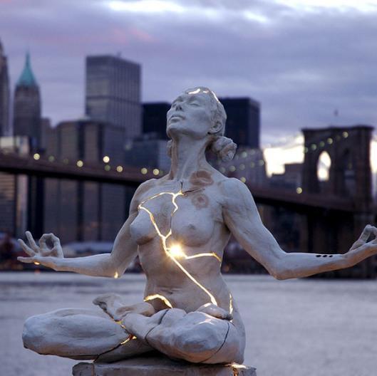 """paige bradley """"expansion"""" sculpture"""